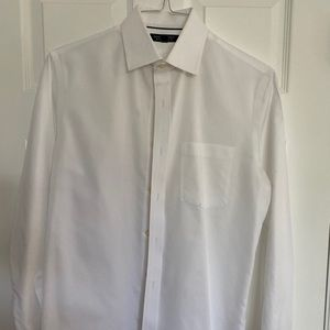 Banana Republic Mens White Dress Shirt S